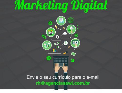 Sawi contrata profissional para área de Marketing Digital